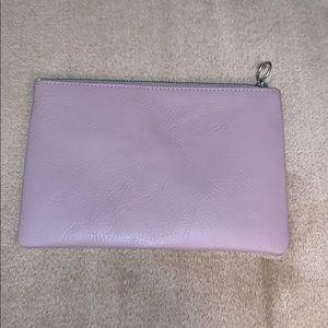 Warm lilac fancy clutch